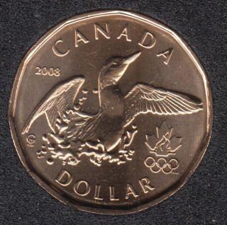 2008 - B.Unc - Lucky Loon - Canada Dollar
