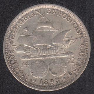 1893 - World's Columbian Exposition - Commemorative - 50 Cents