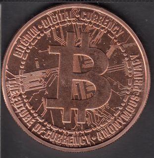 Bitcoin - 1 oz 999 Fine Copper