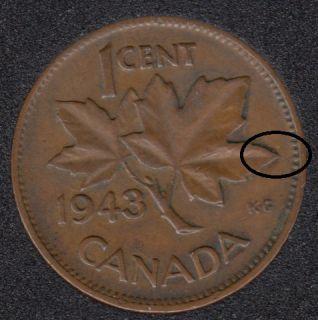 1943 - Break ML to Rim - Canada Cent