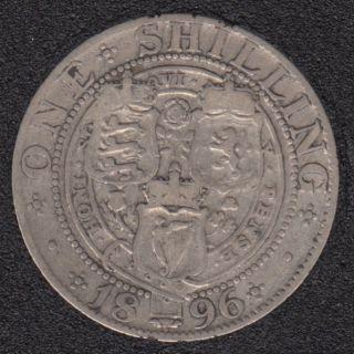 1896 - Shilling - Grande Bretagne