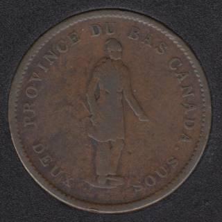 L.C. 1837 Banque du Peuple - Penny Token - LC-9C1