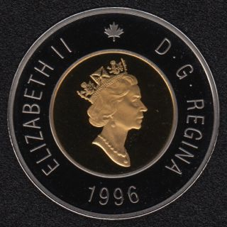 1996 - Proof - Canada 2 Dollars