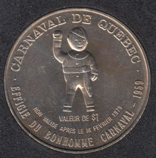 Quebec - 1979 Carnaval de Québec - Eff. 1959 / Bateau - Dollar de Commerce