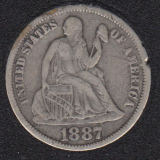 1887 - 10 Cents