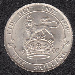 1902 - Shilling - Grande Bretagne