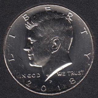 2018 P - 50 Cents