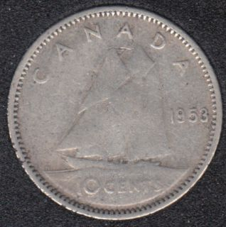 1953 - SF - Canada 10 Cents