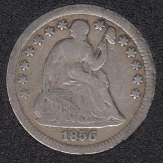 1856 - Liberty Seated - Half Dime