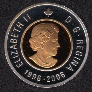 2006 - 1996 - Proof - Silver - Canada 2 Dollar