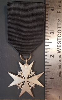 #233 The Order of St. John; Serving Brother Breast Badge