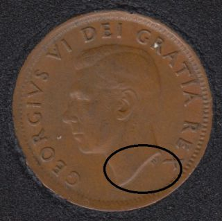 1951 - Double Head - Canada Cent