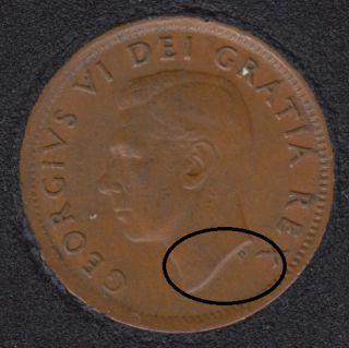 1951 - Double Head - Canada Cent