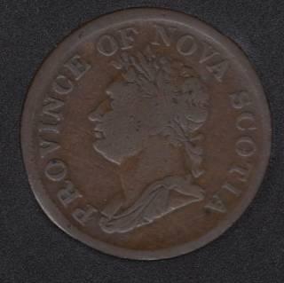 N.S. 1832 Penny Token - NS-2B1