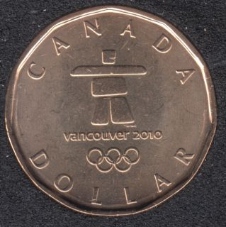 2010 - B.Unc - Olympic Loon - Canada Dollar
