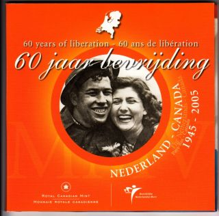 2005 Canada 60th Anniversary of the Liberation of the Netherlands Coin Set