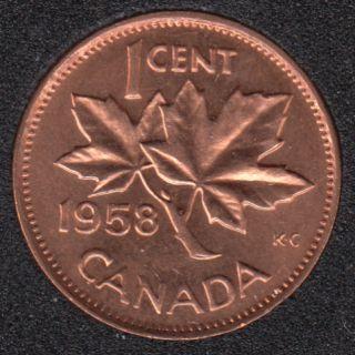 1958 - B.Unc - Canada Cent