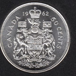 1962 - B.Unc - Canada 50 Cents