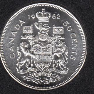 1962 - B.Unc - Canada 50 Cents