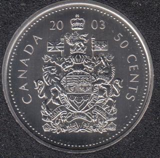 2003 P - Specimen - OE - Canada 50 Cents