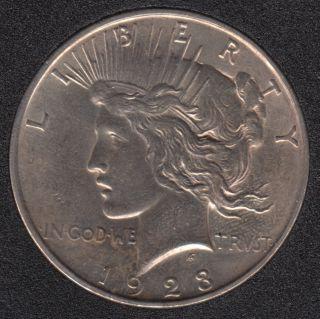 1923 D - Peace - Dollar