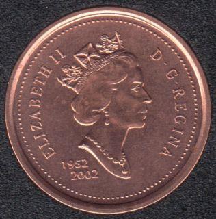 2002 - 1952 - B.Unc - Canada cent