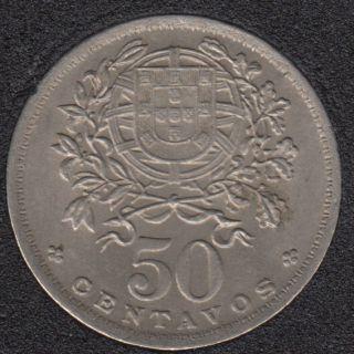 1944 - 50 Centavos - Unc - Portugal
