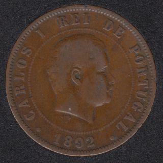 1892 - XX Reis - Portugal