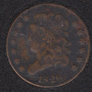 1826 - Classic Head Half Cent