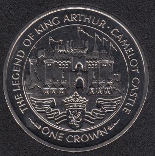 1996 - Crown - Legend of King Arthur & Camelot Castle - Isle of Man
