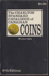 1984 - Charlton - Standard Catalogue of Canadian Coins Winter - Usagé