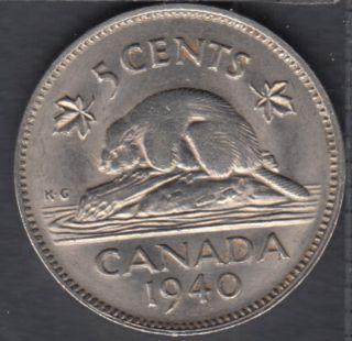 1940 - AU - Canada 5 Cents