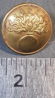 #106 French Military Button World War I