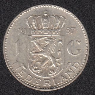1957 - 1 Gulden - Pays-Bas