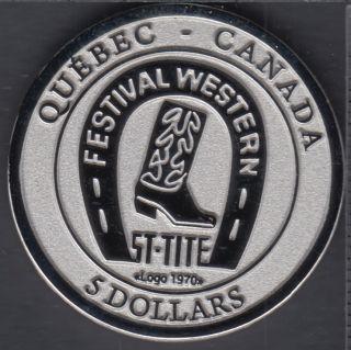 Saint-Tite - 2015 - Festival Western - $5 Trade Dollar