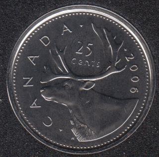 2006 P - NBU - Canada 25 Cents