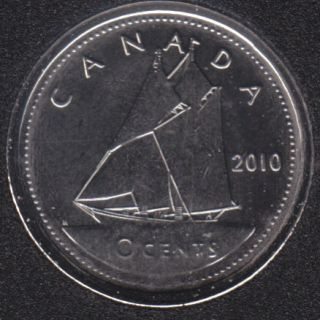 2010 - B.Unc - Canada 10 Cents