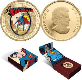 2013 - $75 - Pièce en or 14 carats - SupermanMC : Les premières années