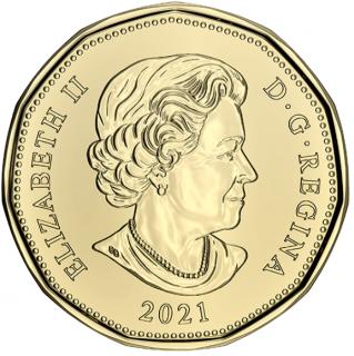 2021 - B.Unc - Canada Dollar