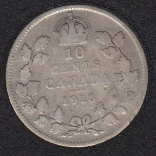 1918 - Canada 10 Cents
