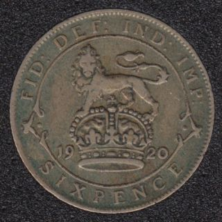 1920 - 6 Pence - Great Britain