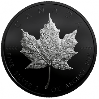 2019 - $10 - 2 oz. Pure Silver Coin - Special Edition Silver Maple Leaf