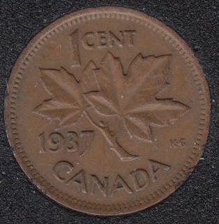 1937 - Canada Cent