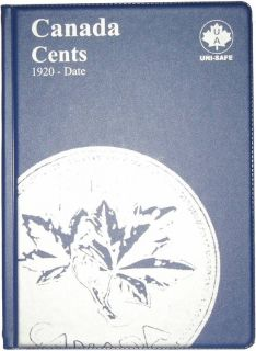 1¢ Canada Uni-Safe Album (Small Cents) 1920-2012