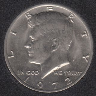 1972 - Kennedy - 50 Cents