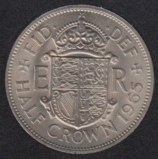 1965 - Half Crown - B.Unc - Grande Bretagne