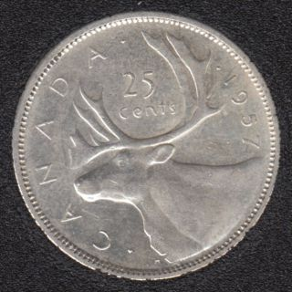 1957 - Canada 25 Cents