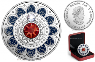2017 - $3 - Pure Silver coin – Zodiac - Aries
