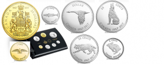 2017 - Commemorative Pure Silver 7-Coin Proof Set - 1967 Centennial Coins