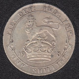 1918 - Shilling - Great Britain
